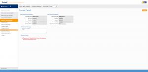 Payroll preview screenshot